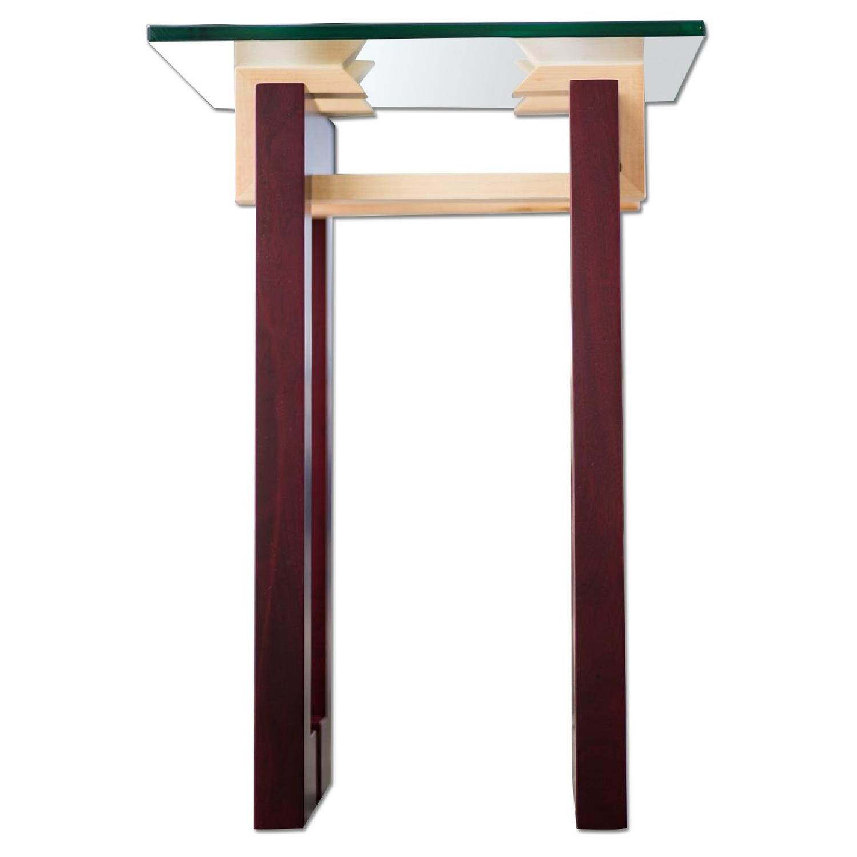 Douglas Design Ant Walnut Maple Side Table - image-0