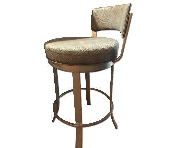 Custom Upholstered Swivel Bar/Counter Stools