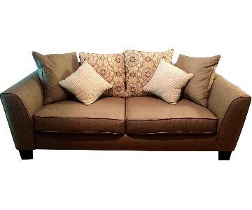 Rooms To Go Bridgeport Taupe Sofa