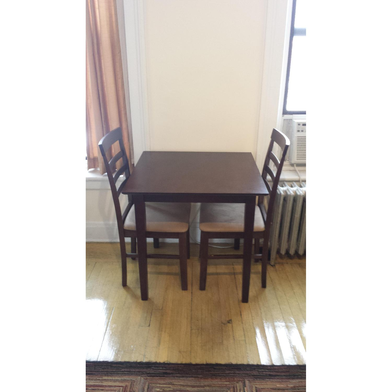 Overstock Kitchen Table W 2 Dining Chairs Aptdeco