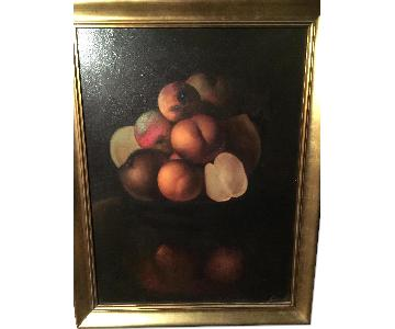 Edwards Original Oil Painting - Still Life