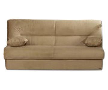 Istikbal Furniture Regata Rainbow Beige/Brown Sleeper Sofa