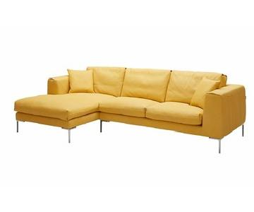 J & M Furniture Soleil Sectional w/ Left Hand Facing Chaise