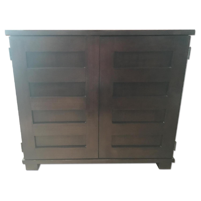 compact office desk. crate u0026 barrel solid wood incognito compact officedesk office desk k