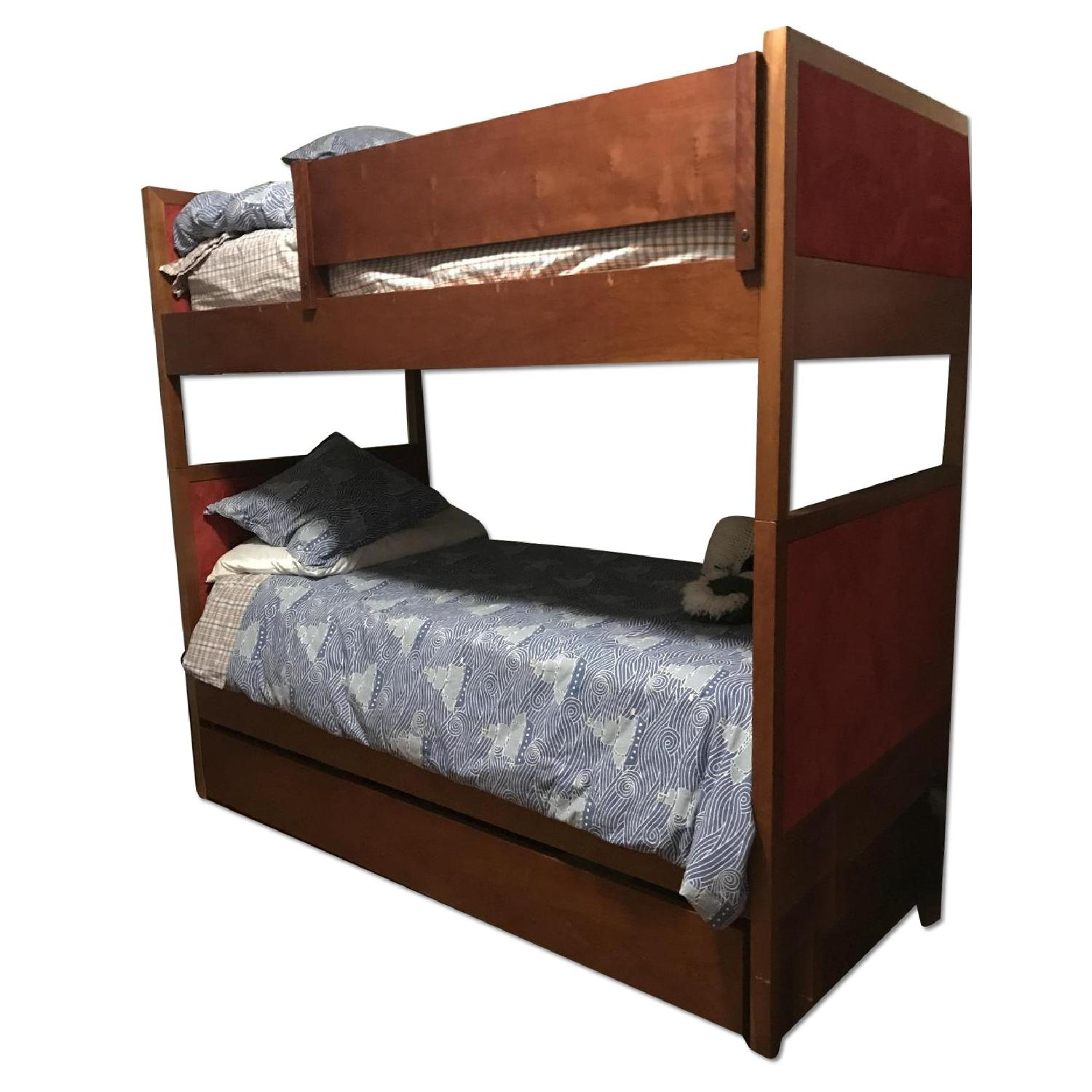 Bunk Bed W Removable Ladder Amp Underneath Storage Aptdeco