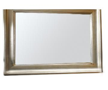 Wood Frame Beveled Mirror