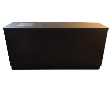 Custom Solid Wood TV Lift Cabinet