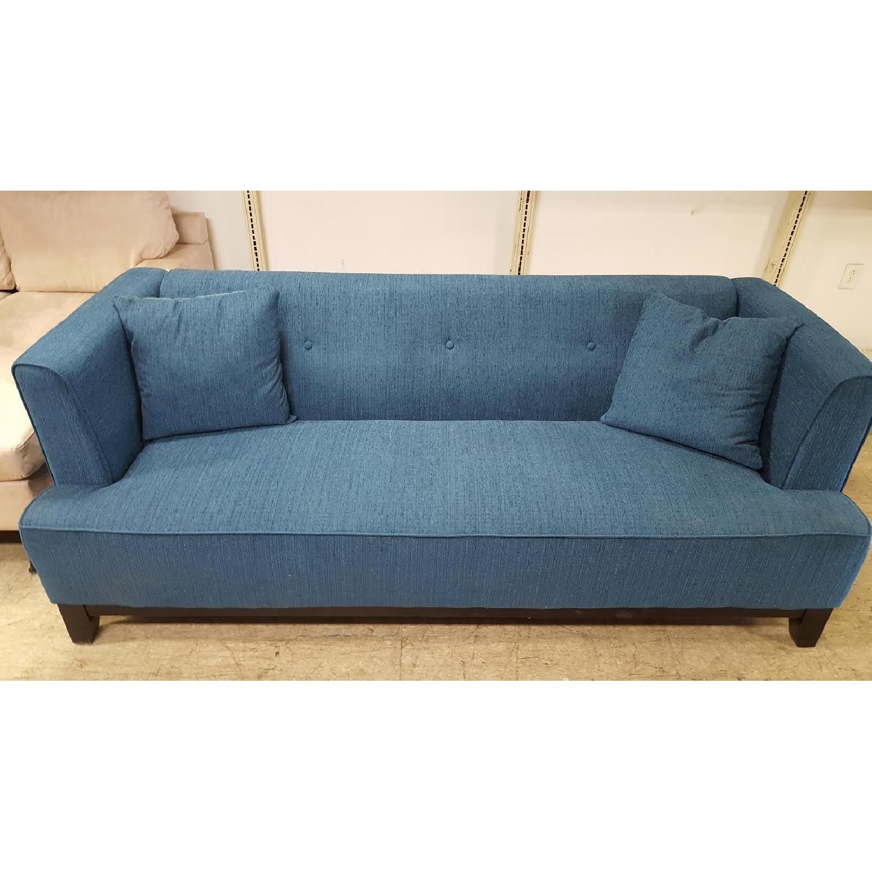 Furniture of America Sofia Teal Sofa-2