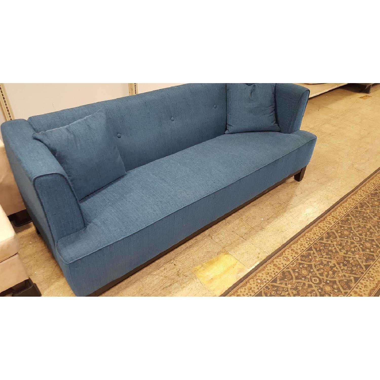 Furniture of America Sofia Teal Sofa-3