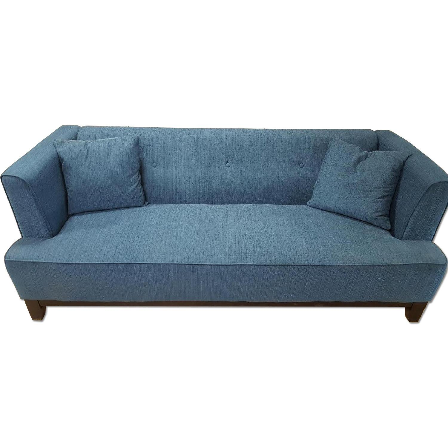 Furniture Of America Sofia Teal Sofa Aptdeco