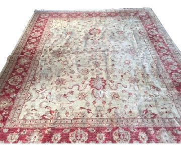Gold/Red Persian Rug