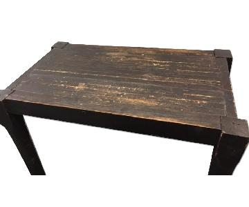 Antique Solid Oak Desk/Table