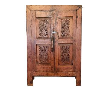 Handmade Reclaimed Wooden Armoire/Dresser