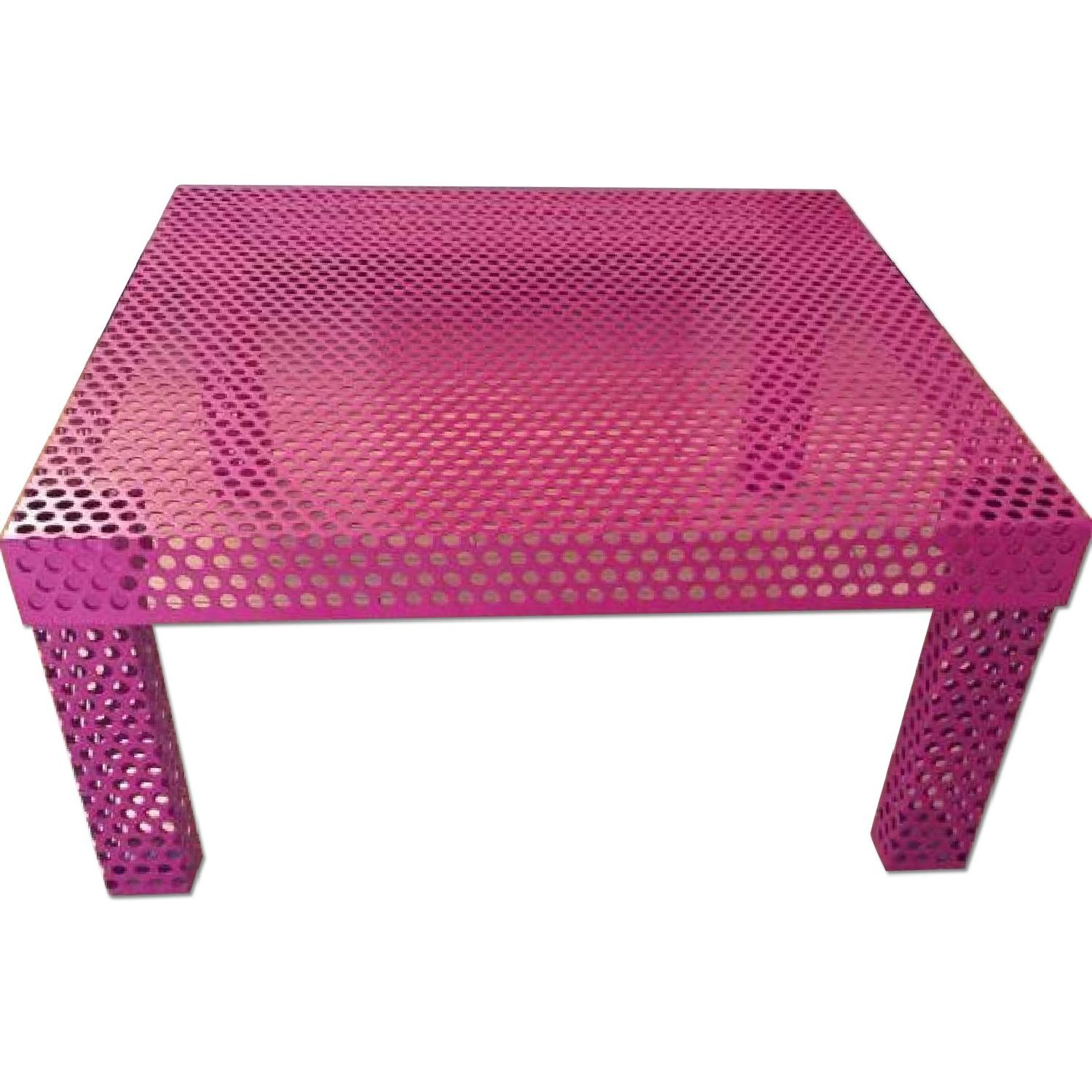 CB2 Rouge Coffee Table