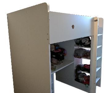 Ikea Stuva/Flja Loft Bed w/ Shelves & Desk