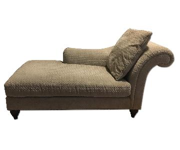 Baker Chaise Lounge w/ Kravet's Upholstery