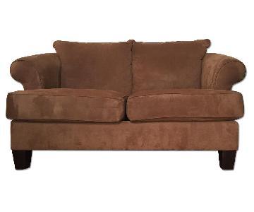 Broyhill Furniture Brown Sofa