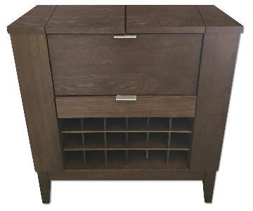 Crate & Barrel Parker Spirits Bourbon Cabinet