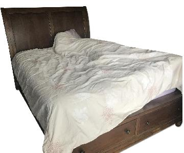 Raymour & Flanigan Queen Storage Bed Frame
