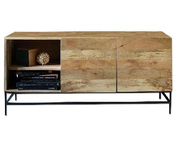 West Elm Industrial Storage Media Console