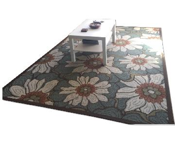 Macy's Large Floral Area Rug