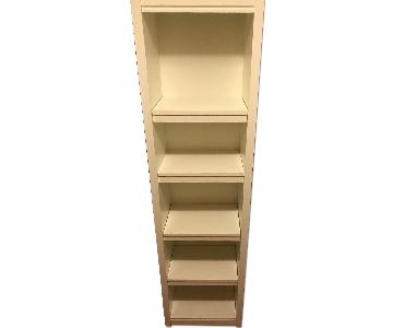 Pottery Barn White Bookshelf