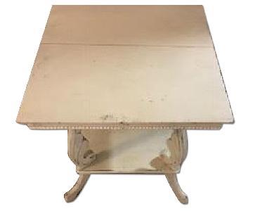 Shabby Chic Hamptons Side Table