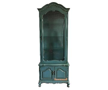 French Provincial Vintage Display Cabinet