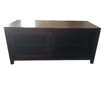 Crate & Barrel Kingston Media Console