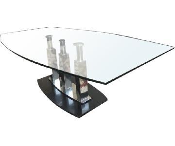 Modern Glass Coffee Table