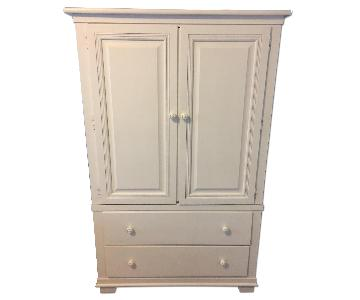 Stanley Furniture Young America White Armoire