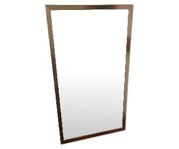 Vintage Large Framed Mirror
