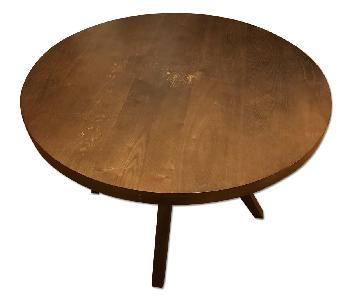 West Elm Arc Base Pedestal Table