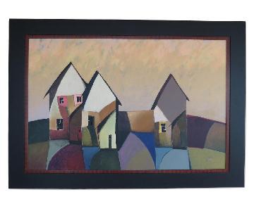 Large Contemporary Original Acrylic Painting