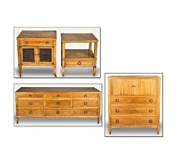 Baker Milling House 4 Piece Bedroom Set
