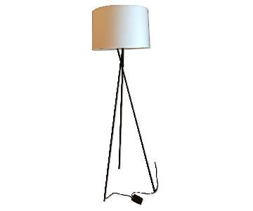 Room & Board Tri-Plex Floor Lamp in Dark Bronze
