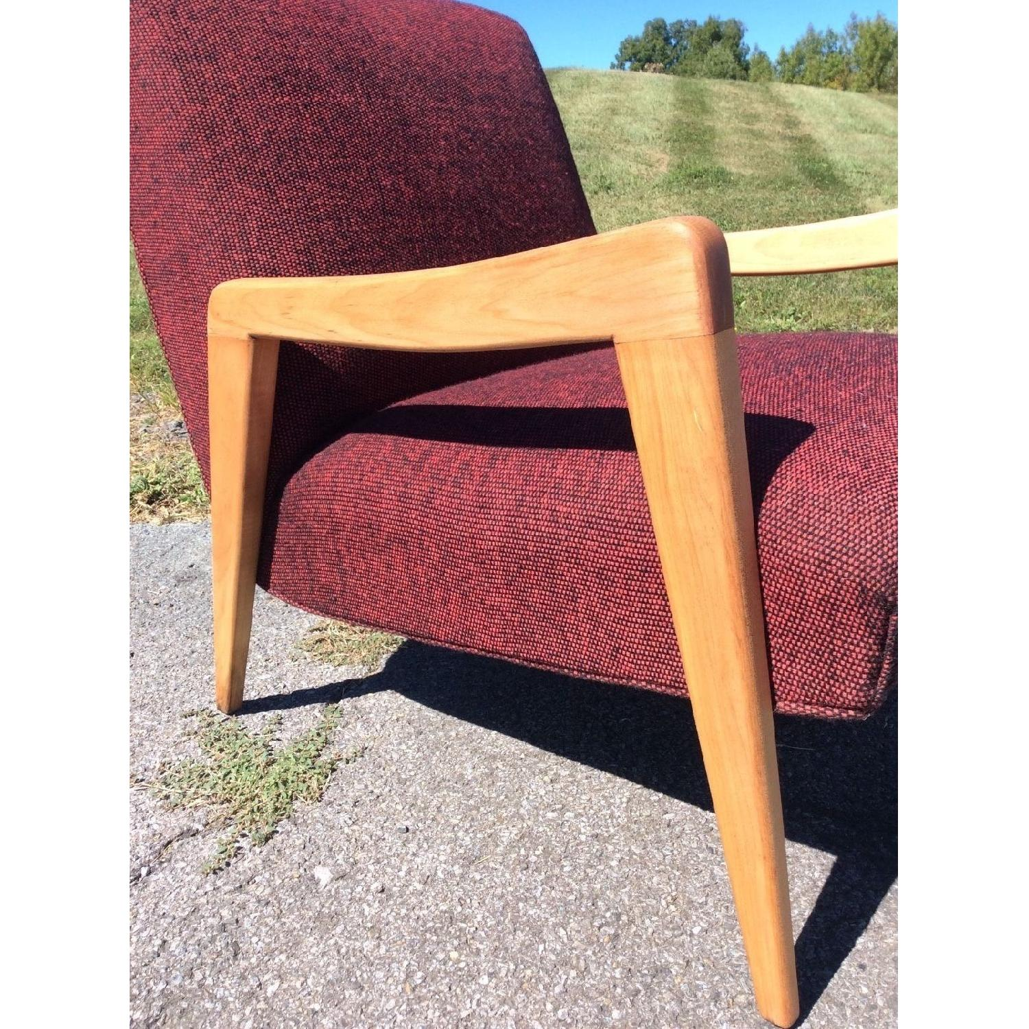Russel Wright Conant Ball Birch Mid Century Modern Lounge Chair - image-2