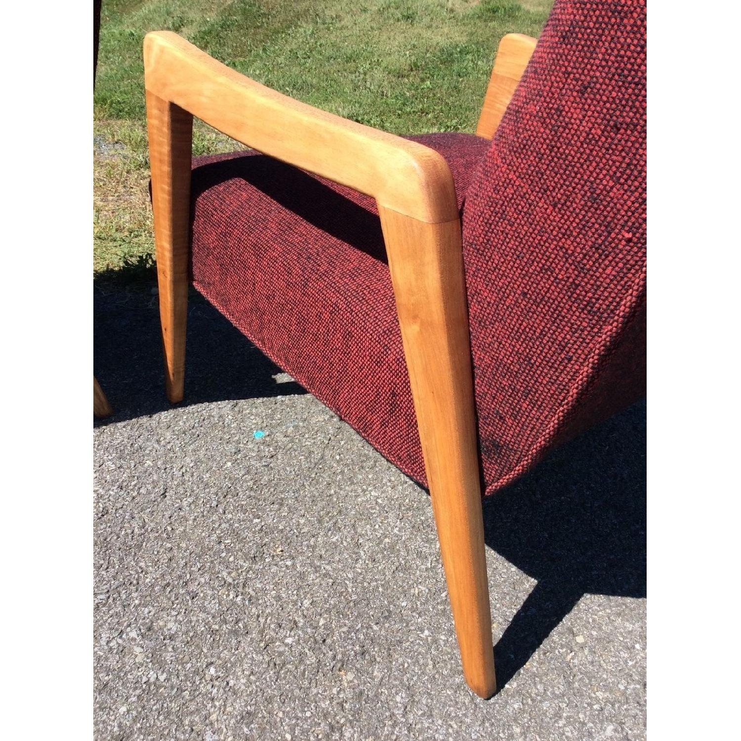 Russel Wright Conant Ball Birch Mid Century Modern Lounge Chair - image-3