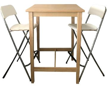 Ikea High Top Table w/ 2 Chairs