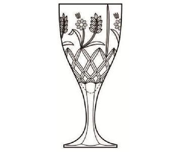 Godinger Stephanie Handcrafted Lead Crystal Glasses
