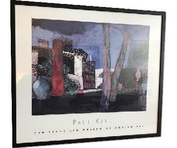 Framed Print of Paul Klee's Mazzaro