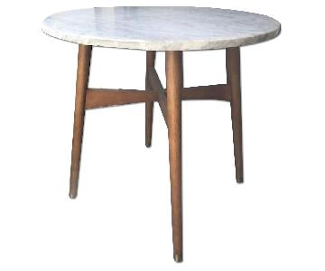 West Elm Reeve Marble Table