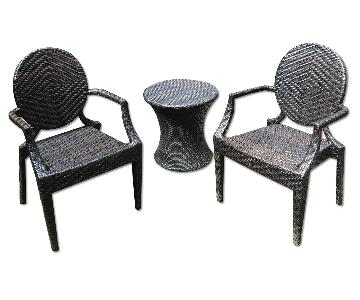 Home Loft Concept 3 Piece Outdoor Dining Set