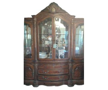 Michael Amini Furniture Designs China Cabinet