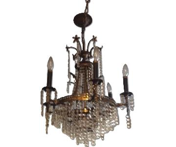Cascading Crystals Tiered Chandelier