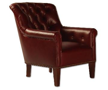 Willem Smith San Telmo Tufted Leather Club Chair