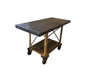 Industrial Factory Cart/Kitchen Island
