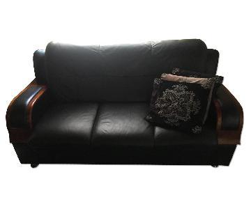 Jerome's Furniture Leather Sofa