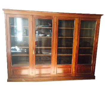 1890-1900 Turn of the Century Oak Bookcase
