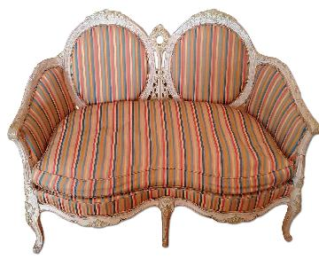 Shabby Chic Style Love Seat